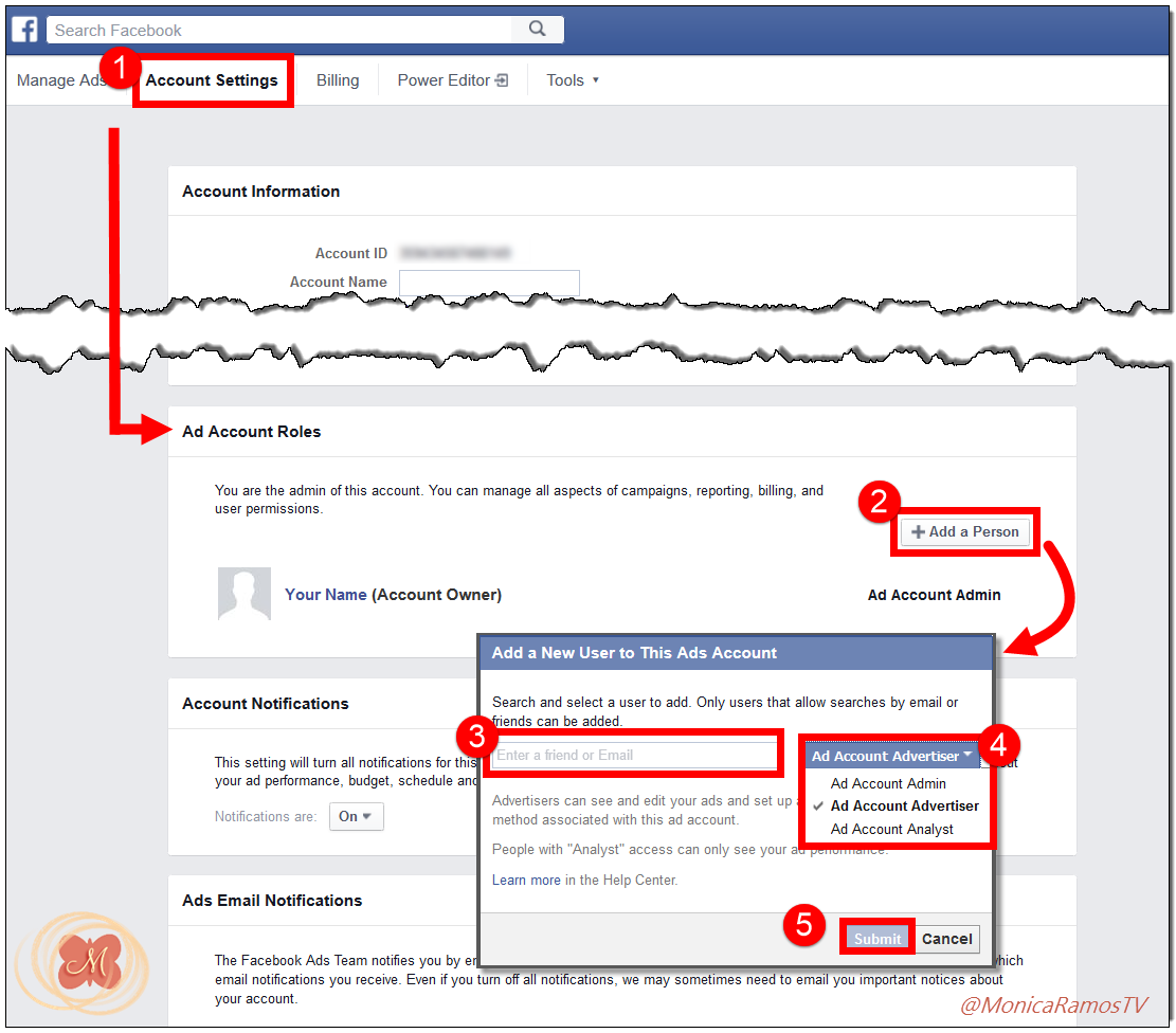 How To Give Someone Access To Your Facebook Ads Account